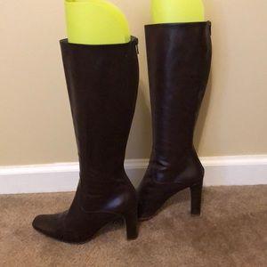 Jill Sander Tall Leather Boots